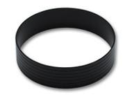"Vibrant Performance - Aluminum Union Sleeve for 3-1/2"" Tube O.D. - Hard Anodized Black"