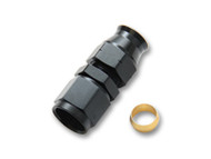 """Vibrant Performance - -6AN Female to 5/16"""" Tube Adapter Fittings (with Brass Olive Insert)"""