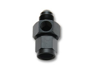 "Vibrant Performance - -6AN Male to -6AN Female Union Adapter Fitting with 1/8"" NPT Port"