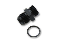 Vibrant Performance - -6AN Flare to AN Straight Cut Thread (7/16-20) with O-Ring Adapter Fitting
