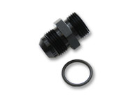 Vibrant Performance - -8AN Flare to AN Straight Cut Thread (3/4-16) with O-Ring Adapter Fitting