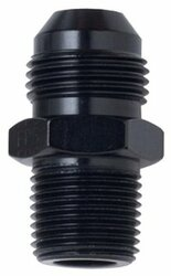 Fragola - Adapter, Straight, Male -4 An To Male 1/8 In. Npt, - Aluminum, Black Anodized