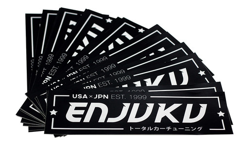 Enjuku racing jdm style sticker enjuku racing parts llc