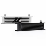 Mishimoto - Universal 10 Row Oil Cooler, Black