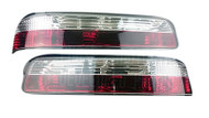 P2M Smoked Tail Light Kit for Nissan 240sx '89-'94 Coupe