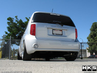HKS Wagon ES Exhaust: Scion xB 08+