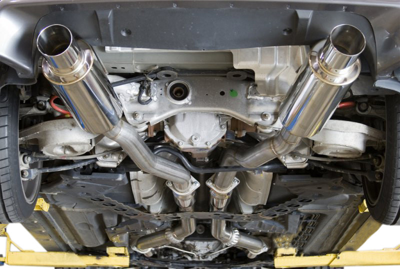 Aam Competition 3 In True Dual Exhaust 350z Or G35