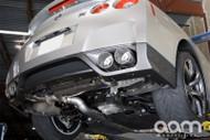 AAM Competition 90MM Premium Sound Adjustable Exhaust - Nissan GTR 08+