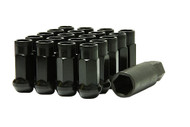Muteki SR48 Black Open End Lug Nuts 12x1.25