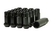Muteki SR48 Black Open End Lug Nuts 12x1.25