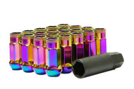 Muteki SR48 Neo Chrome Open End Lug Nuts 12x1.50