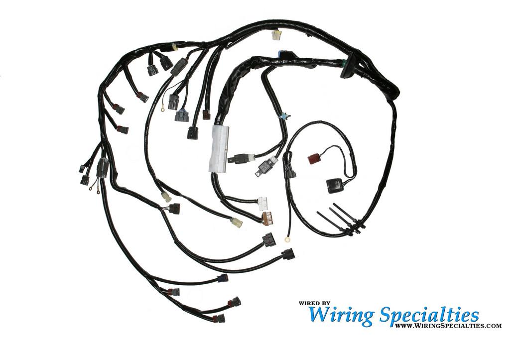 wiring specialties pro coilpack harness rb20det 2jzgte