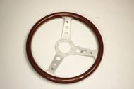 Momo Indy Steering Wheel - 350mm - Wood Grain