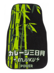 Garage Moon Power X Enjuku Racing Collaboration Floormats - Green