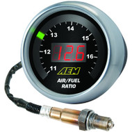 AEM Wideband UEGO Gauge - Digital Air/Fuel - 30-4110 w/ Bosch 4.9 Sensor