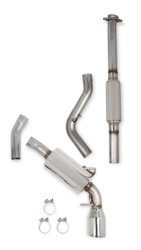 Hooker BlackHeart Cat-Back Single Exit Exhaust for Scion FR-S & Subaru BRZ