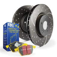 EBC Brake Kit - Stage 5 Yellowstuff and GD Rotors for Mazda RX7 93-95
