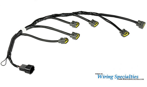 wiring specialties pro series coil pack harness for nissan rb20det rh enjukuracing com 240SX Wiring 240SX Wiring