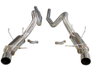 Agency Power Race Tuned Catback Exhaust Ford Mustang 5.0 11-14