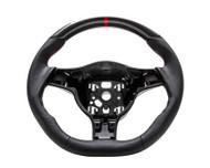 Agency Power Sport Steering Wheel Round Airbag Leather Porsche 997 987 05-09