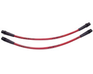 Agency Power Front Steel Braided Brake Lines Audi Allroad Wagon 01-05