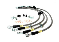 Stoptech Stainless Braided Rear Brake Lines For 98-05 GS300