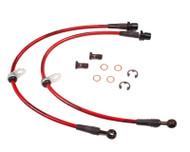 Agency Power Front Steel Braided Brake Lines Subaru Legacy 2.5GT 05-09