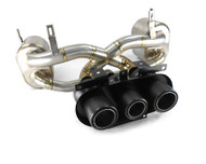 Agency Power Titanium Exhaust Muffler with Carbon Fiber Tips Ferrari 458 Italia | Spyder | Speciale