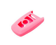 Agency Power Pink Rubber Key FOB Protection Case BMW 13-14