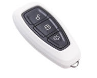 Agency Power White Plastic Key FOB Protection Cased 1st Gen Remote Key Focus Focus ST 13-15