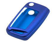Agency Power Metallic Blue Plastic Key FOB Protection Case Volkswagen Golf MK7 Golf GTI 14-15 Jetta 15+