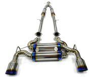 Agency Power Titanium Catback Exhaust Nissan 370Z Z34