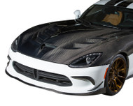 Agency Power Full Carbon Fiber OEM Vented Hood SRT Viper 2013+