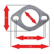 Apexi Oval Muffler Gasket, 2-Bolt (Mitsubishi, Toyota)
