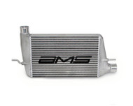 AMS Front mount Intercooler with modular cast end tanks 2008+ With Logo  EVO X for Mitsubishi EVO X