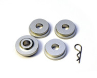 AMS shifter bushings for under the hood *4 piece bushing* for 2010 USDM / 2008+ NON USDM Model  for Mitsubishi EVO X