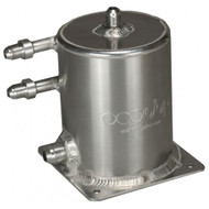 OBP Base Mount 1 Ltr Fuel Swirl Pot with JIC Fittings