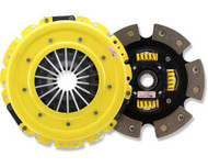 ACT HD Clutch Kit 6 Puck Sprung Disc for 2009+ Hyundai Genesis Coupe 2.0T Compatible with Stock Flywheel