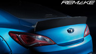 REMAKE Carbon Fiber Trunk Wing for Hyundai Genesis Coupe