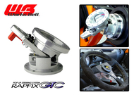 Works Bell Rapfix GTC Flip-up Steering System (Silver)