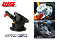 Works Bell Rapfix GTC Flip-up Steering System (Black)