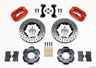 Wilwood Red Dynalite 4 Piston Big Brake Kit Mazda Miata - Front 11.00""