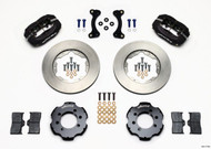 Wilwood Black Dynalite 4 Piston Big Brake Kit Mazda Miata - Front 11.00""