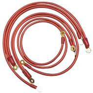 Stillen Grounding Kit 03-06 350Z / 03-06 G35 4Dr / 03-07 G35 2Dr - Red
