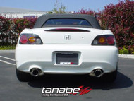 Tanabe 00 - 05  Honda S2000 Medallion Touring Dual Muffler Cat-back Exhaust