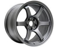 GramLights Matte Graphite 57DR Wheel 18X8.5 5x108 38mm
