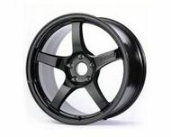 GramLights Glossy Black 57CR Wheel 17x9 5x114.3 12mm