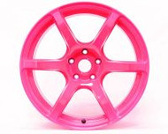 GramLights Fluorescent Pink 57C6 SP Spec Wheel 18x9.5 5x114.3 12mm