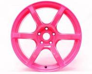 GramLights Fluorescent Pink 57C6 SP Spec Wheel 18x9.5 5x114.3 38mm