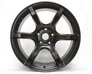 GramLights Semi Gloss Black 57C6 Wheel 18x9.5 5x114.3 25mm